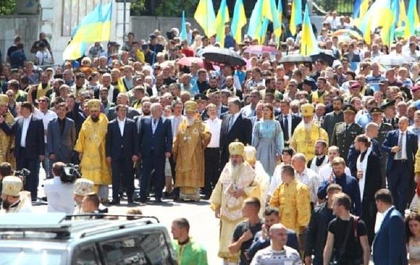 У Києві проходить хресна хода УПЦ КП