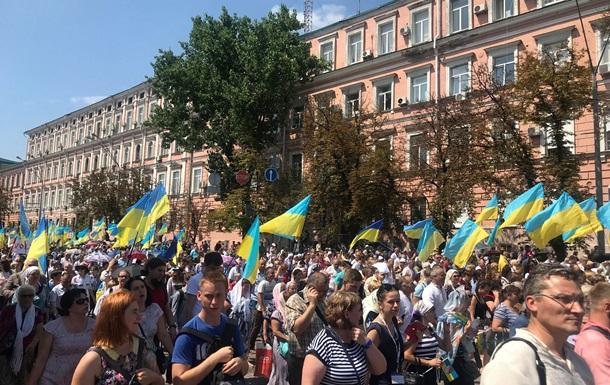 Хресна хода УПЦ КП зібрала 65 тисяч осіб - МВС