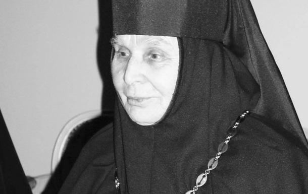 Померла монахиня, яка запобігла замаху на патріарха Філарета