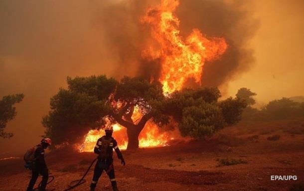 У США жертвами лісових пожеж стали шестеро осіб
