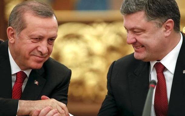 Порошенко помогает Эрдогану в борьбе с  гюленистами