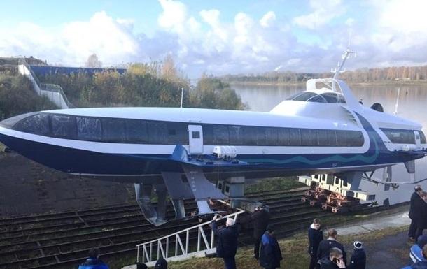 Росія запустила в Криму судно на підводних крилах
