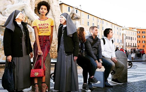 Dolce & Gabbana зняли епатажну рекламу в Римі