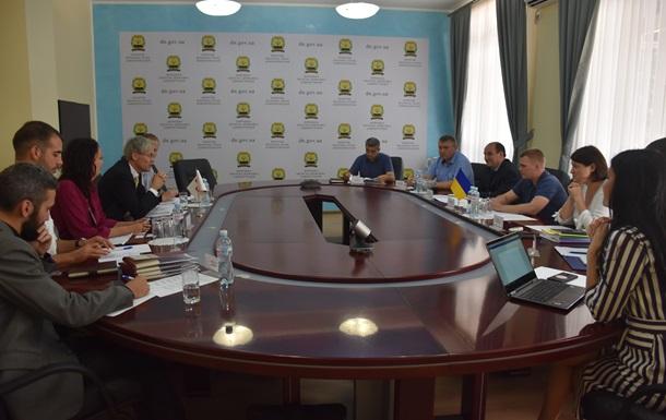 Червоний Хрест презентував два проекти на Донбасі