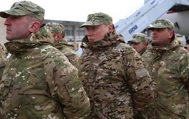 Грузинские военные приехали на учения без оружия