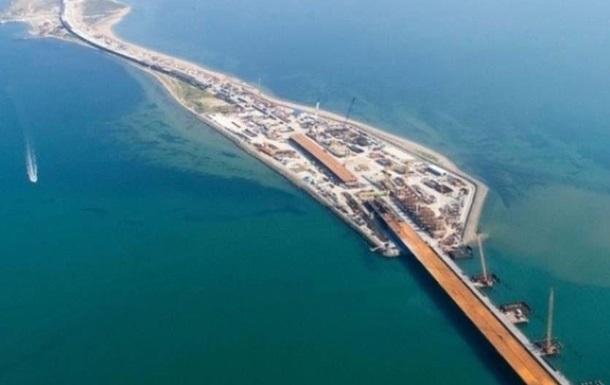 Україна підготувала санкції через Кримський міст