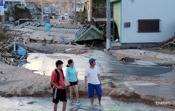 В Японії від стихійних лих загинули майже 350 осіб