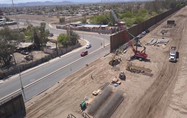 Трамп оголосив про початок будівництва стіни на кордоні з Мексикою