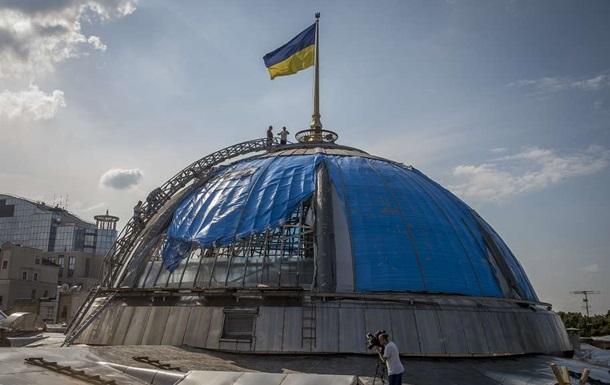 Для купола Верховної Ради замовили армоване скло з Польщі