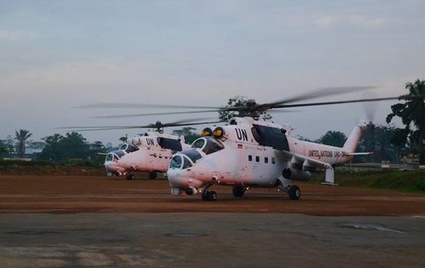 Українські миротворці в Конго знищили табір бойовиків