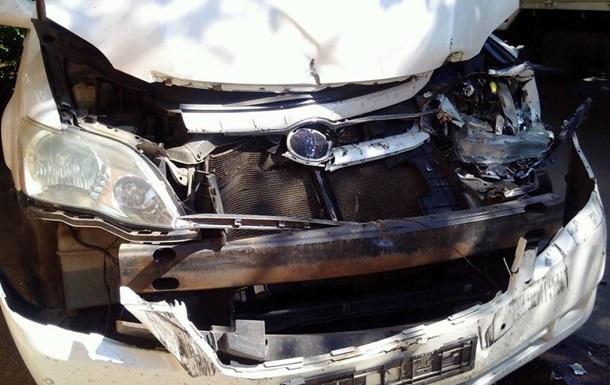 Авто з лідерами Руху протаранила вантажівка