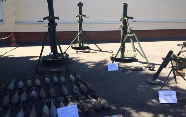 ГПУ показала зброю для  теракту  Савченко-Рубана