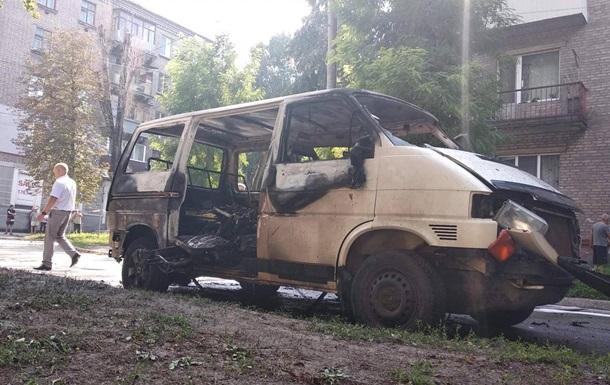 У Кам янському вибухнув мікроавтобус з депутатом