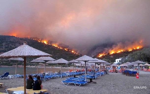 Пожежі в Греції: правоохоронці затримали палія