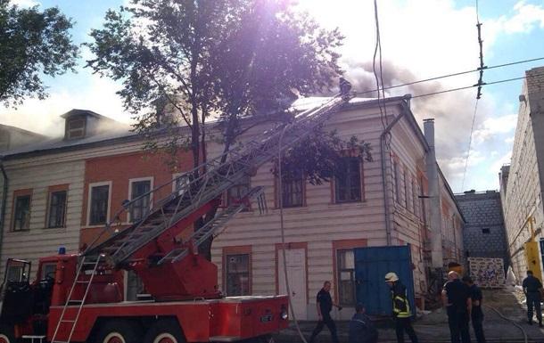 У Харкові ліквідували пожежу в будівлі Академії мистецтв