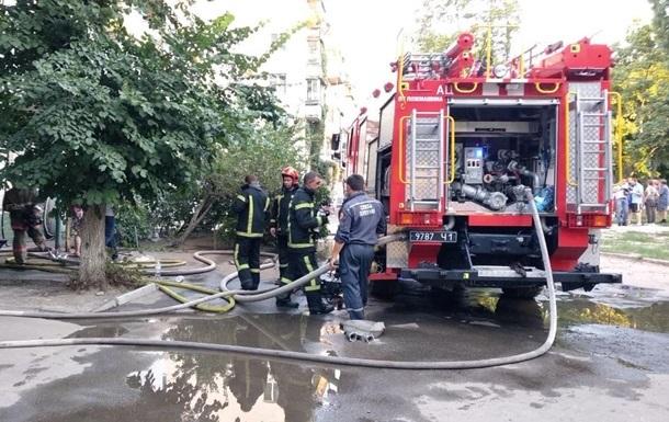 У Харкові дві жінки вистрибнули з вікна, рятуючись від пожежі