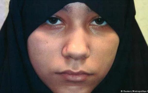 В Лондоне 18-летняя джихадистка осуждена пожизненно за терроризм