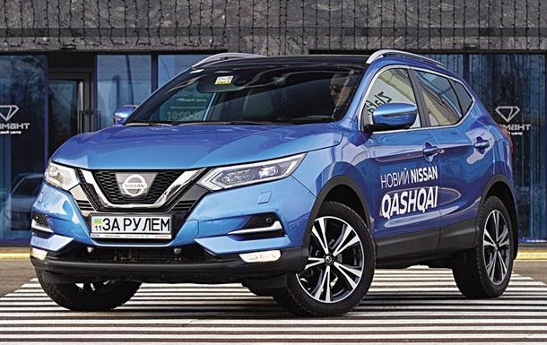Тест-драйв Nissan Qashqai: порівнюємо бензин і дизель