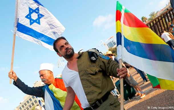 В Ізраїлі десятки тисяч протестували проти закону про  національну державу