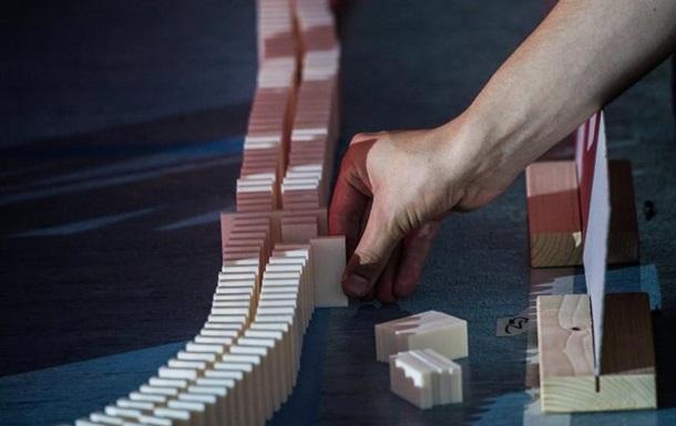Муха завадила встановити світовий рекорд з падіння доміно