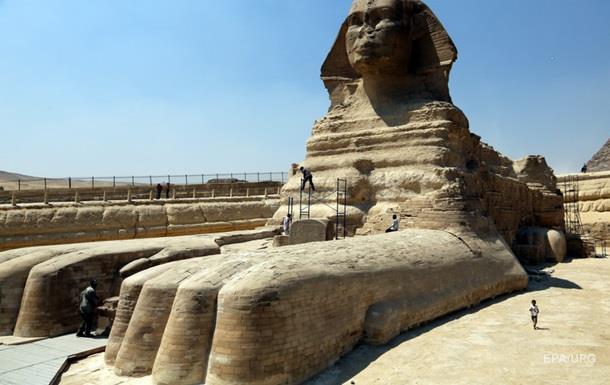 В Египте обнаружили статую нового Сфинкса