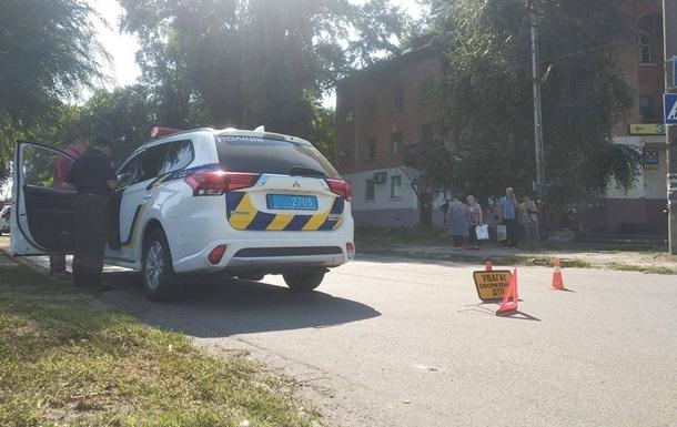 У Кам янському Audi збив жінку з дитиною на пішохідному переході