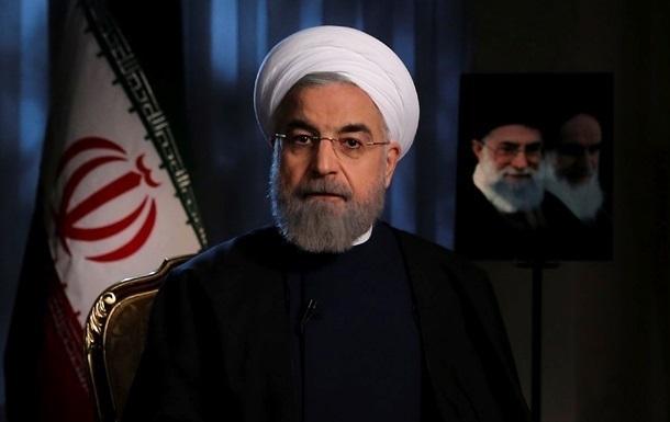 США пошкодують про санкції проти Ірану – Роухані