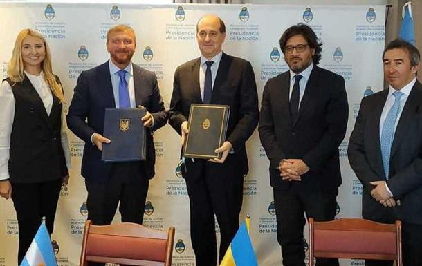Україна і Аргентина домовилися про передачу засуджених