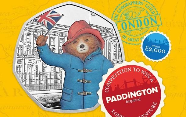 У Британії випустили монети з ведмежам Паддінгтоном