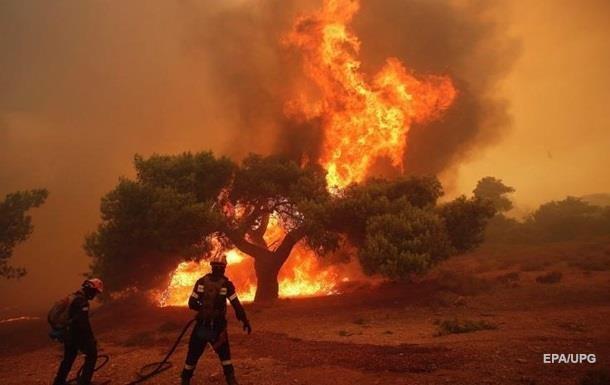 Найбільші в історії Каліфорнії пожежі показали з космосу