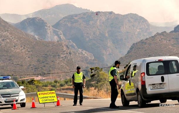 Лісові пожежі в Іспанії: евакуйовано майже три тисячі осіб