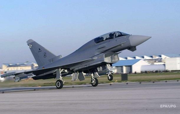 Винищувач ВПС Іспанії помилково випустив бойову ракету над Естонією