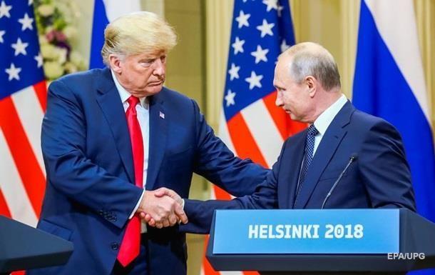 ЗМІ знають, що Путін пропонував Трампу в Гельсінкі