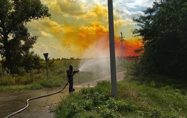 Витік азотної кислоти в Дніпропетровській області нейтралізували - ДСНС