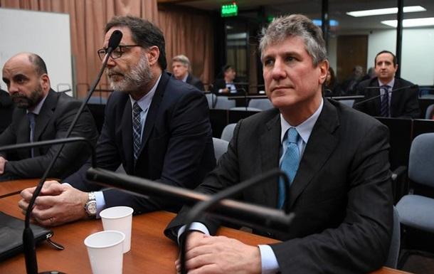Екс-віце-президента Аргентини засудили за корупцію