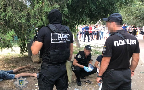 В Одесі намагалися підірвати поліцейську