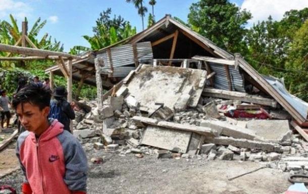 Землетрус в Індонезії: кількість жертв досягла 347