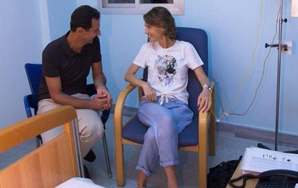 Дружину Асада госпіталізували з онкозахворюванням