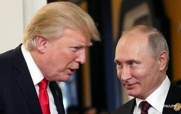 Трамп передав Путіну листа