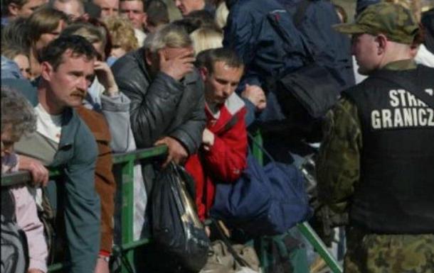 Угрожающие масштабы бегства людей из Украины