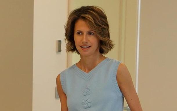 Дружина Асада після госпіталізації звернулася до сирійців