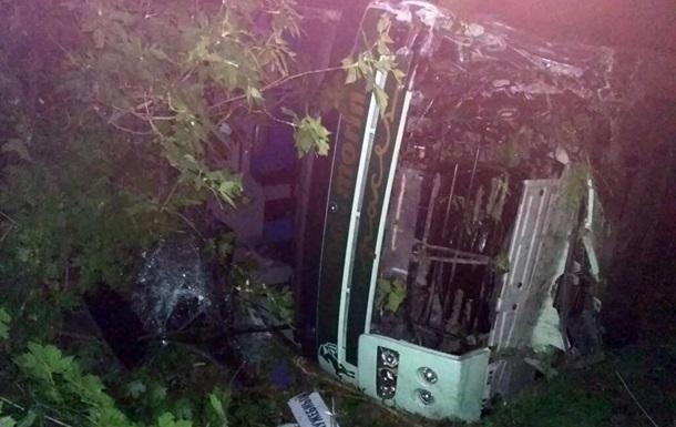 На Дніпропетровщині в ДТП постраждали 15 осіб