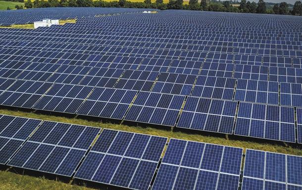 В Україні побудують завод з виробництва сонячних панелей
