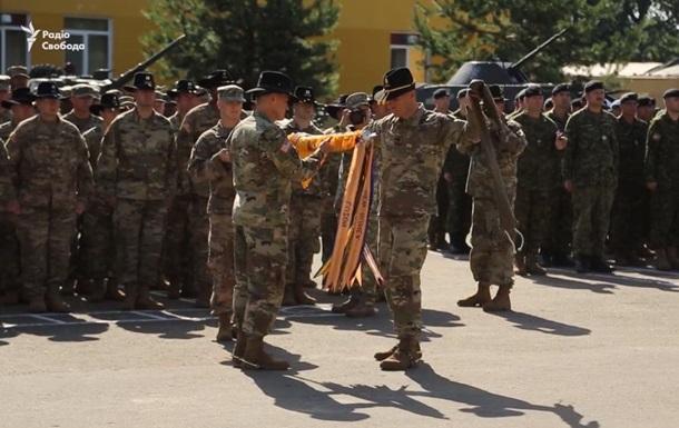 На Яворівському полігоні відбулася ротація військових США