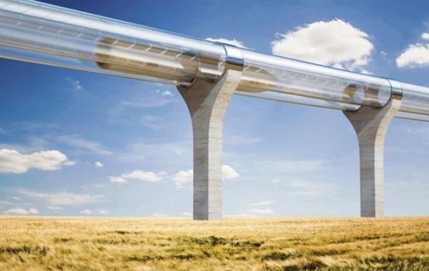 Во Франции построят тестовый трек Hyperloop