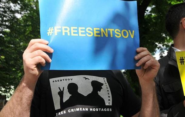 Світові лідери закликають Росію звільнити Сенцова