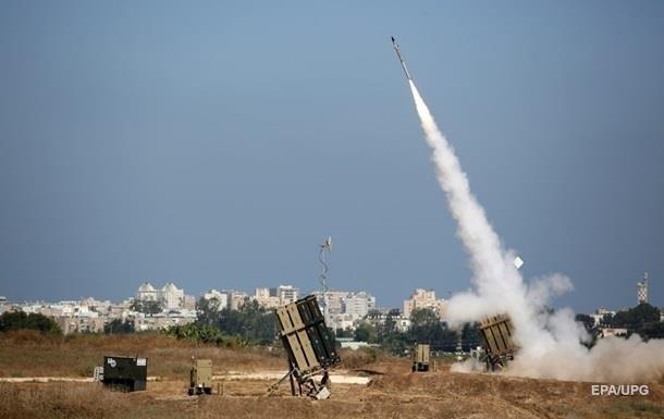 З явилося відео ракетного удару по Ізраїлю