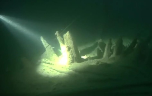 У Чорному морі виявили вітрильник древніх римлян