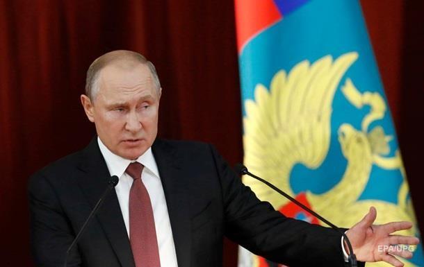 Путін назвав нелегітимними нові санкції проти РФ