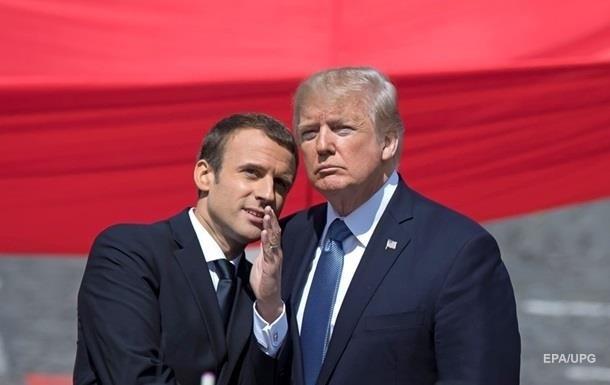 Трамп і Макрон обговорили питання безпеки та торгівлі